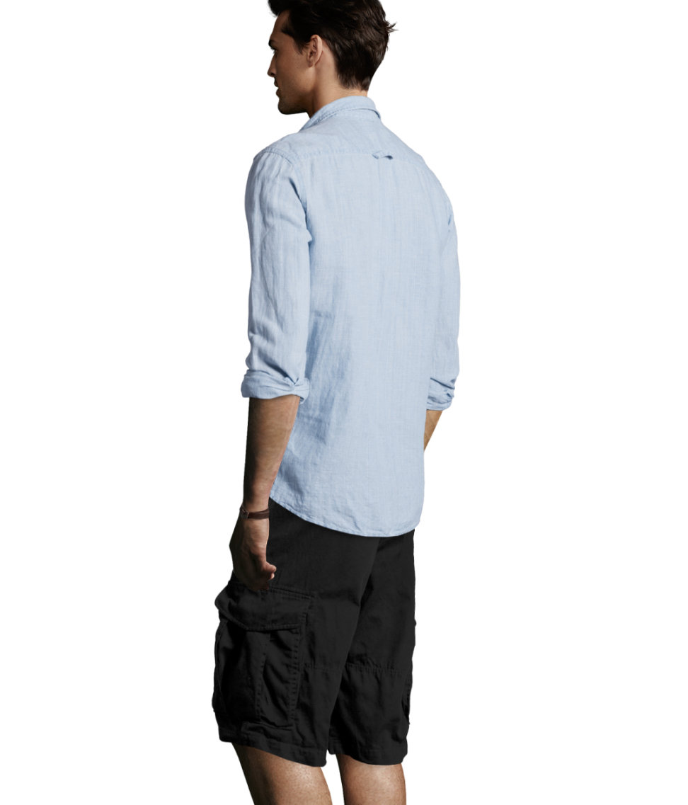 96cb3ff38d H&M Cargo Shorts in Black for Men - Lyst