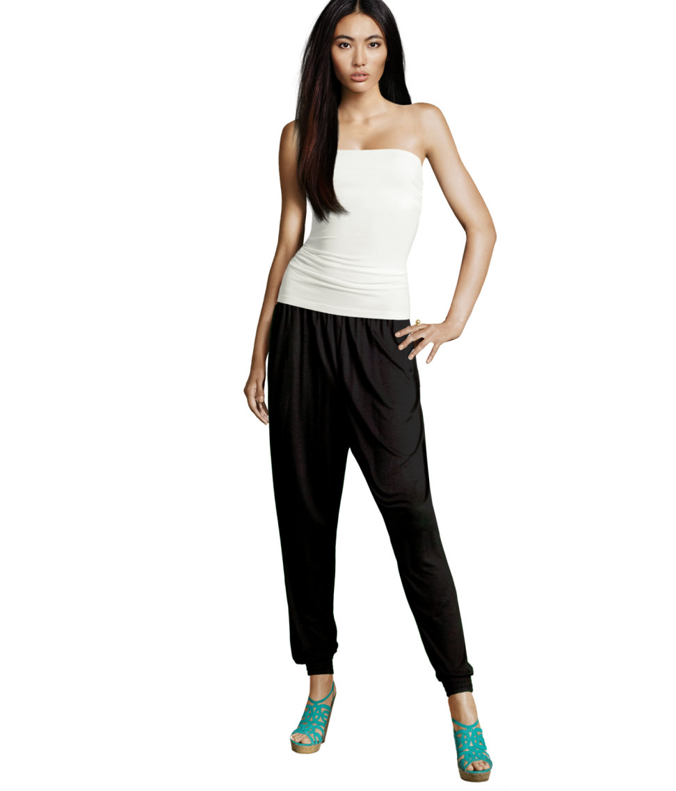For classic harem pants, add 6 to 12 inches (16 to 32 cm) to hip and thigh measurements for the width - depending on how loose you want pants. For slim harem pants, add inches ( cm) to hip and thigh measurement.
