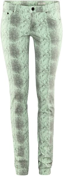 H&m Sqin Jeans in Green - Lyst