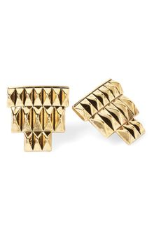 House Of Harlow Pyramid Bar Stud Earring - Lyst