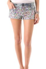 Joe's Jeans 2 Cut Off Sequin Shorts - Lyst