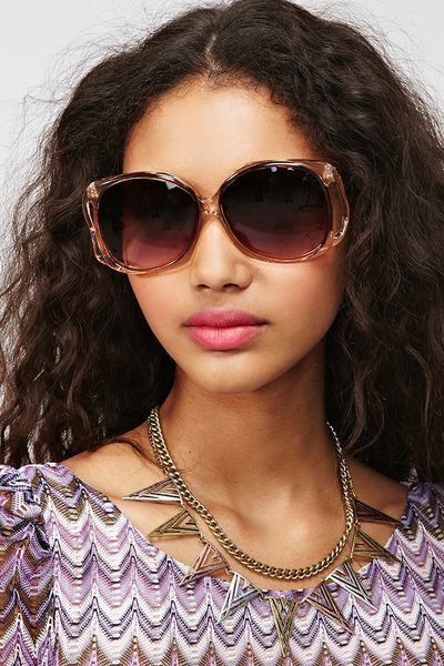 Nasty Gal Marcelle Shades in Gold (copper) - Lyst