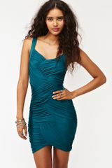 Nasty Gal Wrapped Up Dress - Lyst