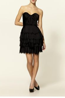 Rebecca Taylor Eyelash Bustier Dress - Lyst