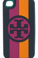 Tory Burch Roslyn Silicone iPhone Case - Lyst