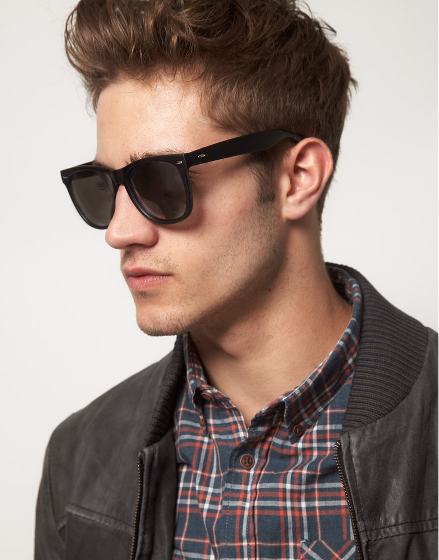 large wayfarer sunglasses 9eyb  Gallery Men's Wayfarer Sunglasses