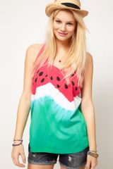 ASOS Collection Asos Vest in Watermelon Print - Lyst