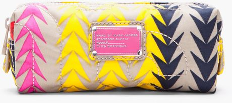Marc By Marc Jacobs Narrow Cosmetic Pouch Bag in Multicolor (grey) - Lyst