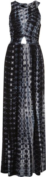 Topshop Tie Dye Maxi Dress - Lyst