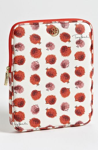 Tory Burch Brigitte Coated Canvas Tablet Sleeve - Lyst