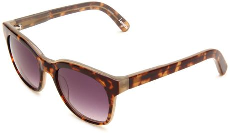 Elizabeth And James Rectangle Sunglasses in Brown for Men (tortoise frame/brown lens) - Lyst