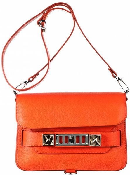 Proenza Schouler Ps11 Mini Classic in Orange (tangerine) - Lyst