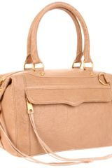 Rebecca Minkoff Mab Mini Bubble Shoulder Bag in Beige (taupe) - Lyst