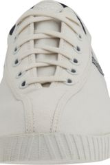 Tretorn Nylite Canvas Sneaker in White for Men (white/peacoat navy) - Lyst