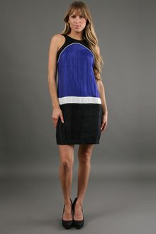 Alexia Admor Color Block Dress  - Lyst