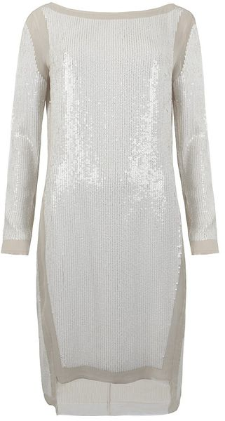 AllSaints Prey Ls Dress - Lyst