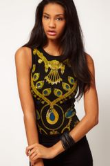 ASOS Collection Asos Body in Chain Print - Lyst