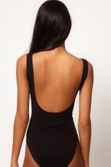 Asos Collection Asos Body with Ornate Foil Print in Black - Lyst