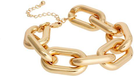 Asos Asos Chunky Link Chain Bracelet in Gold