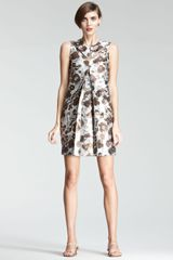 Christopher Kane Floral Shift Dress - Lyst