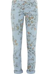 Citizens Of Humanity Mandy Floralprint Highrise Skinny Jeans - Lyst