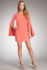 Elizabeth And James Mabel Flutter-sleeve Dress - Lyst