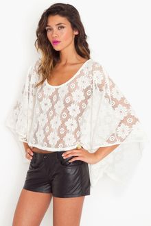 Nasty Gal Riptide Leather Shorts - Lyst