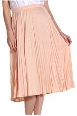 Tibi Relaxed Jersey Pleated Skirt - Lyst