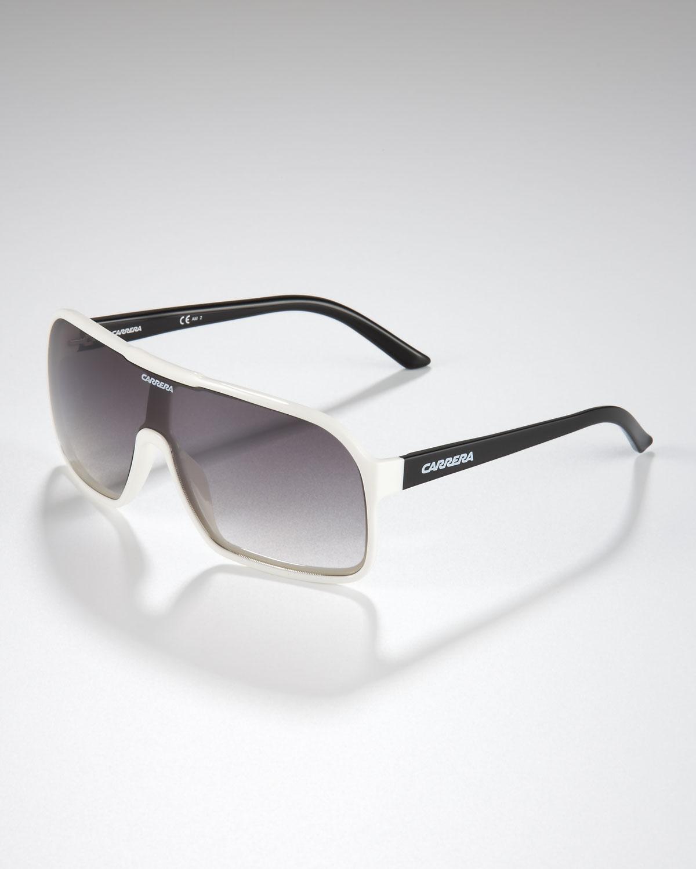 d99aa222cfbf Lyst - Carrera Square Plastic Shield Sunglasses in Black for Men