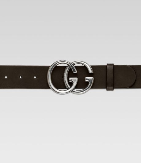 Gucci G Adjustable Belt in Brown for Men - Lyst