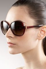 Oliver Peoples Isobel Plastic Sunglasses - Lyst