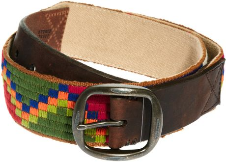 Ralph Lauren Denim Supply Plaited Navajo Belt in Multicolor for Men (multi) - Lyst