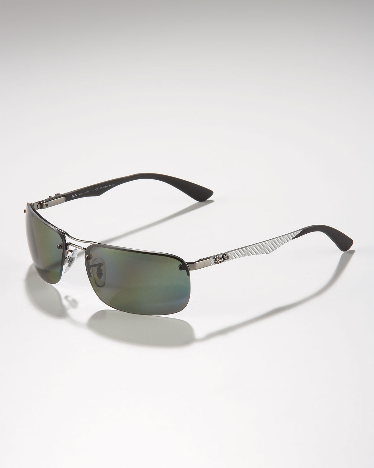 727910e9499 ... coupon lyst ray ban polarized tech sunglasses in gray for men a76e8  c80ee