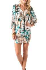 Tbags Los Angeles Tunic Dress - Lyst