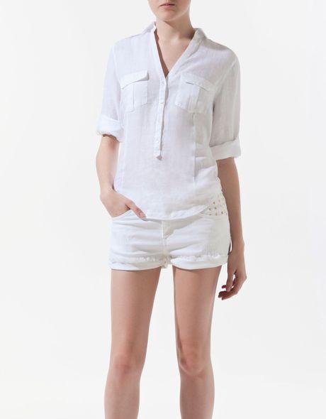 Zara Linen Blouse 83