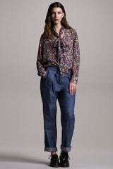 10 Crosby by Derek Lam Indigo Carpenter Jeans - Lyst