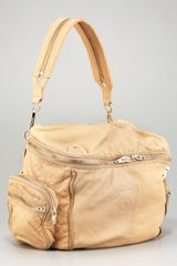 Alexander Wang Leather Jane Ziparound Bag in Beige (toffee) - Lyst