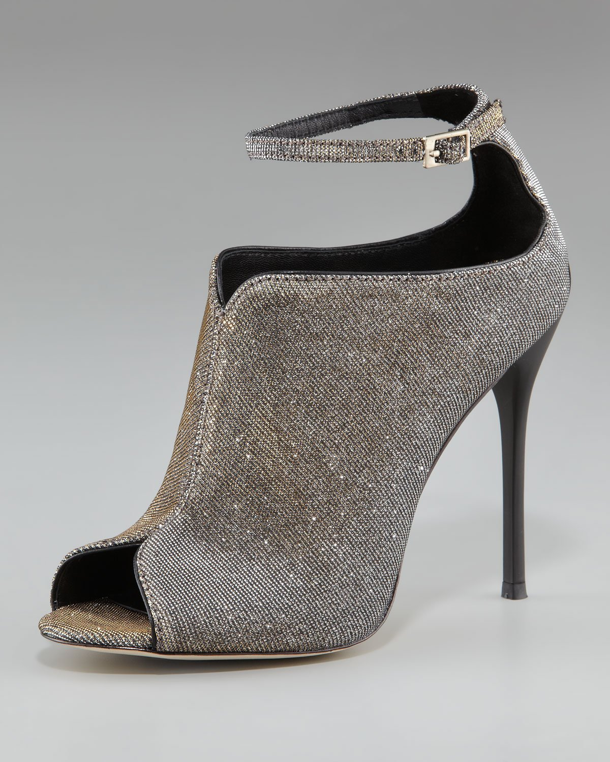 B Brian Atwood Ponyhair Peep-Toe Ankle Boots discount comfortable cheap sale pay with paypal genuine for sale NNlDEy