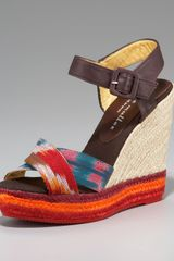 Bettye Muller Colorblock Espadrille - Lyst
