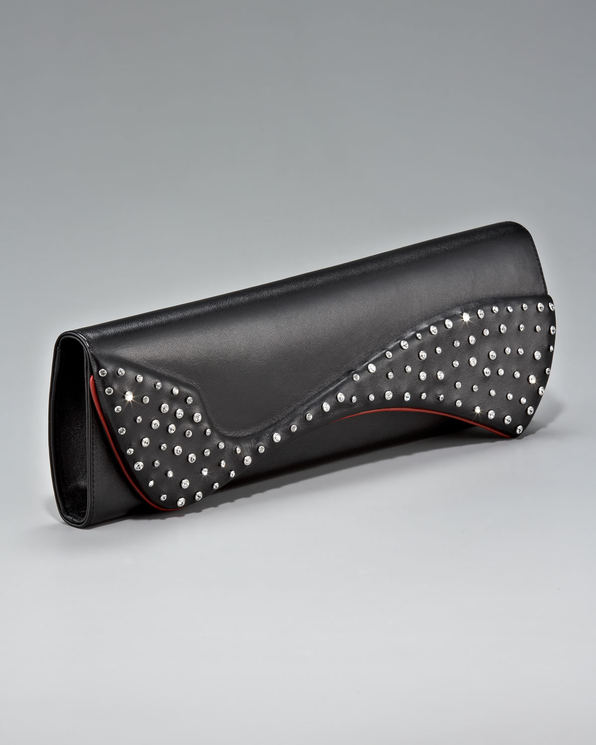 christian louboutin pigalle clutch bag