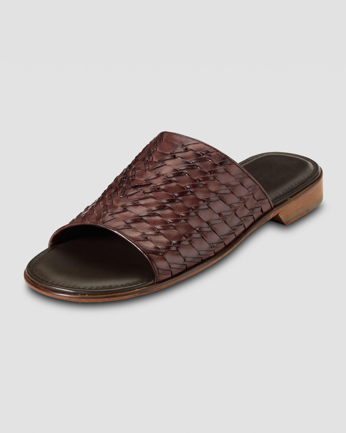 0bbd8feaa90e Cole Haan Air Tremont Woven Slide Sandal in Brown for Men - Lyst