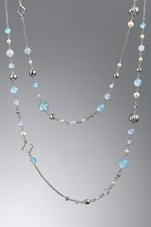 David Yurman Bijoux Necklace, Aqua Chalcedony, 50 - Lyst