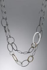 David Yurman Mobile Necklace - Lyst