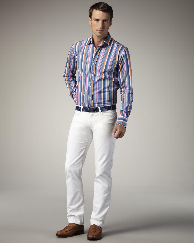 White True Religion Jeans Men