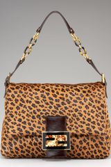 Fendi Forever Leopard-print Calf Hair Bag - Lyst