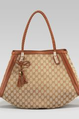 Gucci Bella Medium Doublehandle Shoulder Bag - Lyst