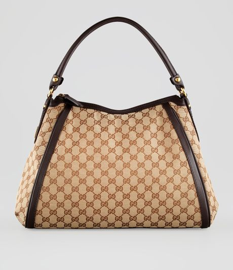 Gucci Scarlett Medium Hobo in Beige (beige cocoa) - Lyst