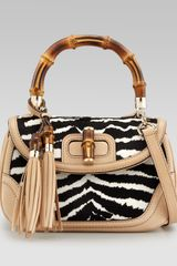 Gucci New Bamboo Medium Bag - Lyst