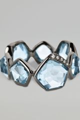 Ippolita Topaz Diamond Ring - Lyst