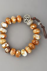 Love Heals Faceted Agate Bracelet - Lyst